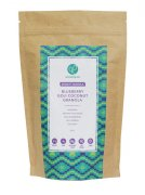 Blueberry Goji Coconut Granola Hand Crafted Packaging 250g on white background