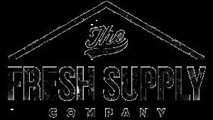 The fresh supply company black Logo