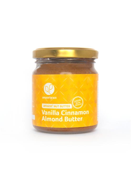 Vanilla Cinnamon Almond Butter - Amazin' Nut Butters | Amazin' Graze